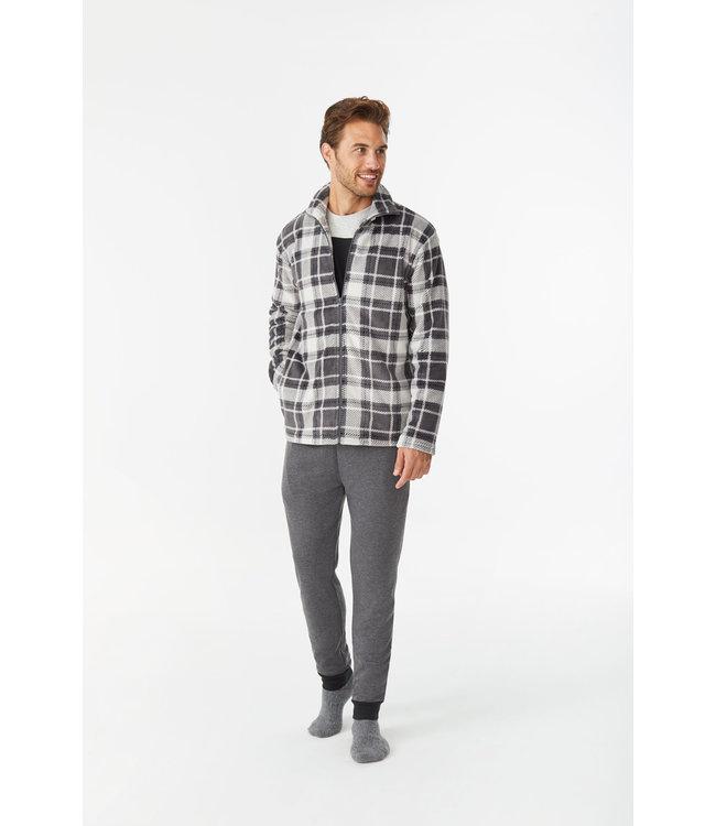 Promise 3-Piece Pyjama Soft Fleece Grey