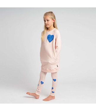 Snurk Snurk Clay Heart Sweater Dress Kids