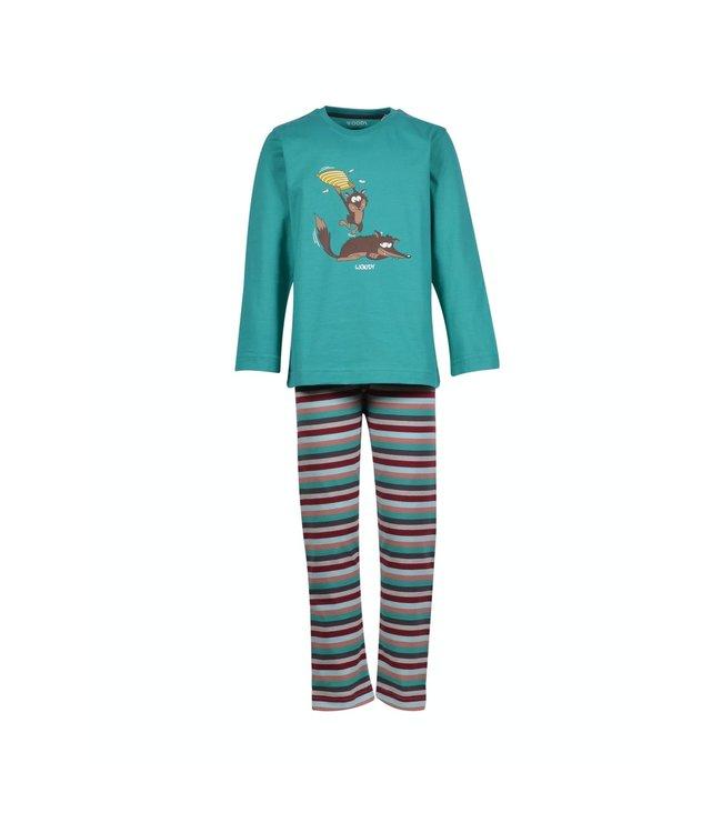 Woody 202-1-PLS-S/752Jongens-Heren pyjama