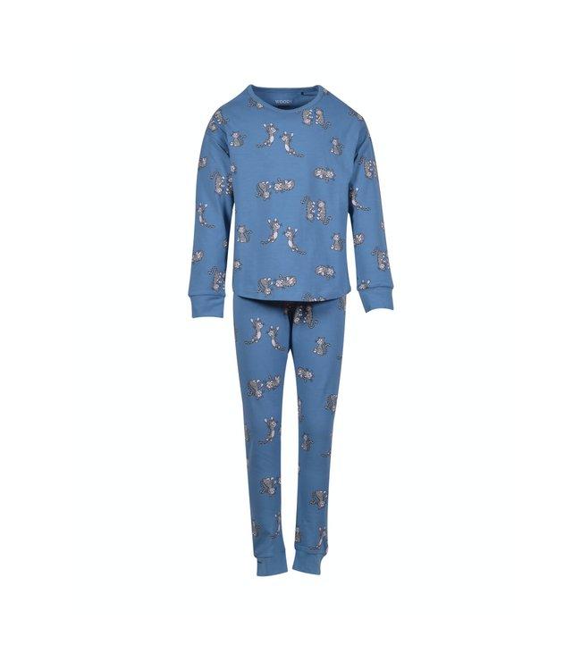 Woody 202-1-PZG-Z/983Meisjes-Dames pyjama