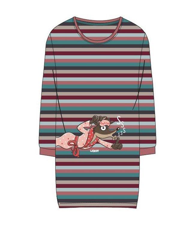 Woody 202-1-POL-S/975Meisjes-Dames pyjama