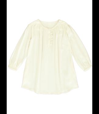 Dorélit Girls Dress Dora Woven Offwhite