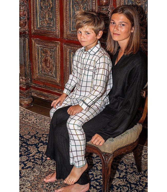 Dorélit Boy Pyjama Set Mercure&Venus Woven Check Multi