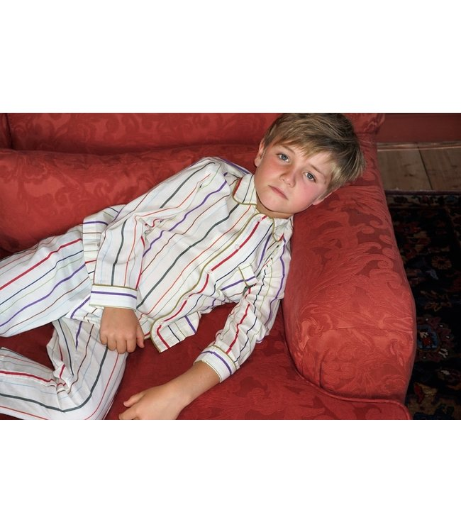 Dorélit Boy Pyjama Set Mercure&Venus Woven Stripe Multi