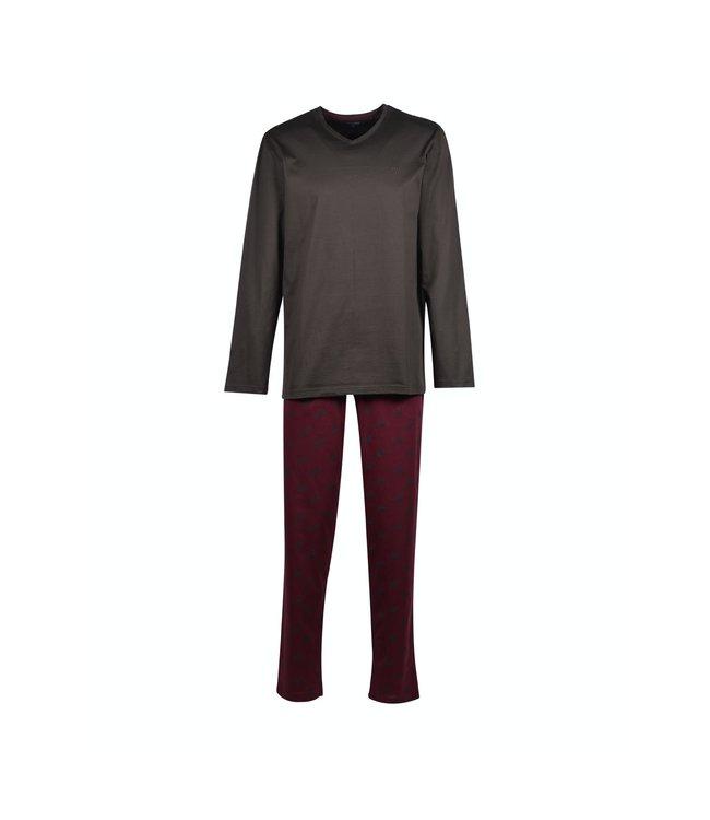Woody 202-1-MVL-S/184Heren pyjama