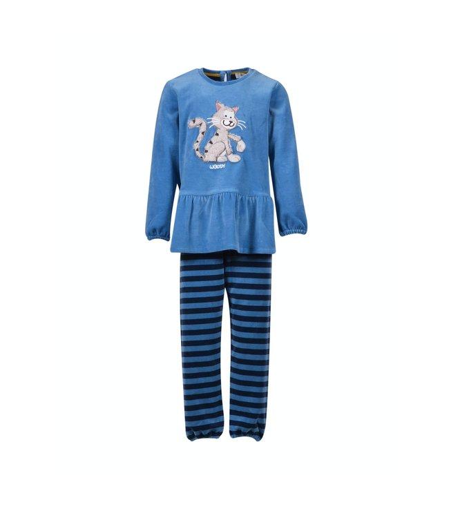 Woody 202-1-PDL-V/845Meisjes-Dames pyjama