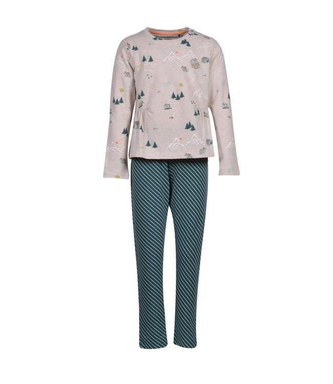 Woody 202-2-YPC-Z/936Meisjes-Dames pyjama