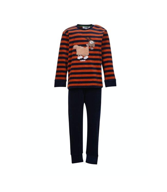 Woody 202-1-PLC-V/965Jongens-Heren pyjama