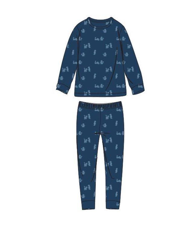 Woody 202-1-PLC-T/984Jongens-Heren pyjama