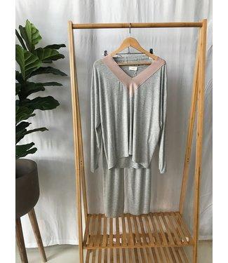 Pluto Amika Pyjama Grey Chine Jersey
