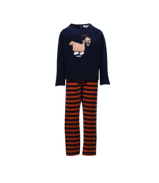 Woody 202-1-PDV-V/895 Girls/Woman pyjama Dark Blue