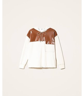 Twin-Set Homewear Set Pattern Leather Cloud Pink /Terracotta