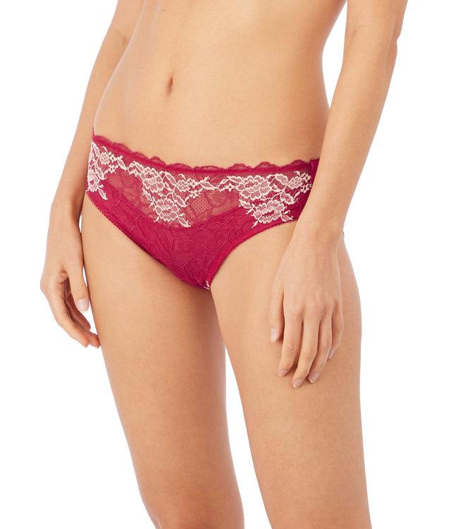 Wacoal Lace Perfection Bikini Brief Cerise