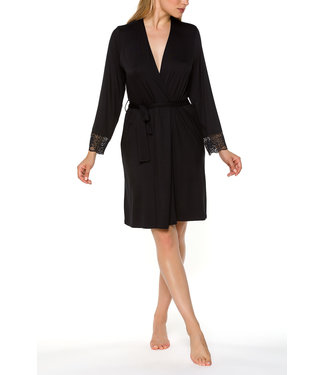 Coemi Dressing Gown Lori Black 106