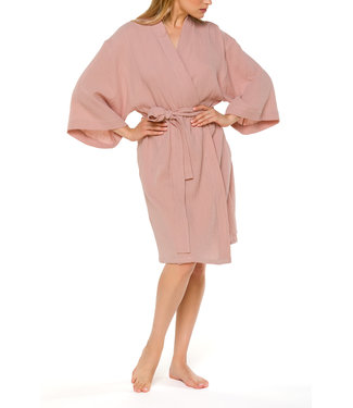 Coemi Dressing Gown Livy Peach 703