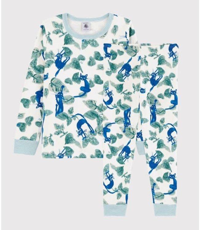 Petit Bateau Kid's Pyjama Marasso Marshmallow Multico