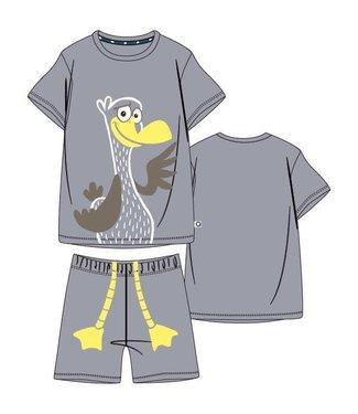 Woody 211-1-PLE-Z/148Jongens-Heren pyjama