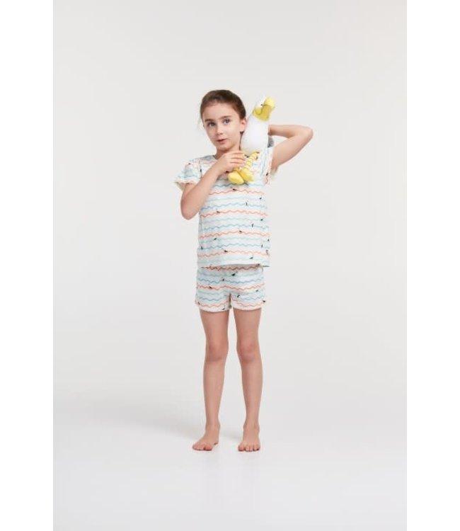 Woody 211-1-PSA-S/919Meisjes-Dames pyjama