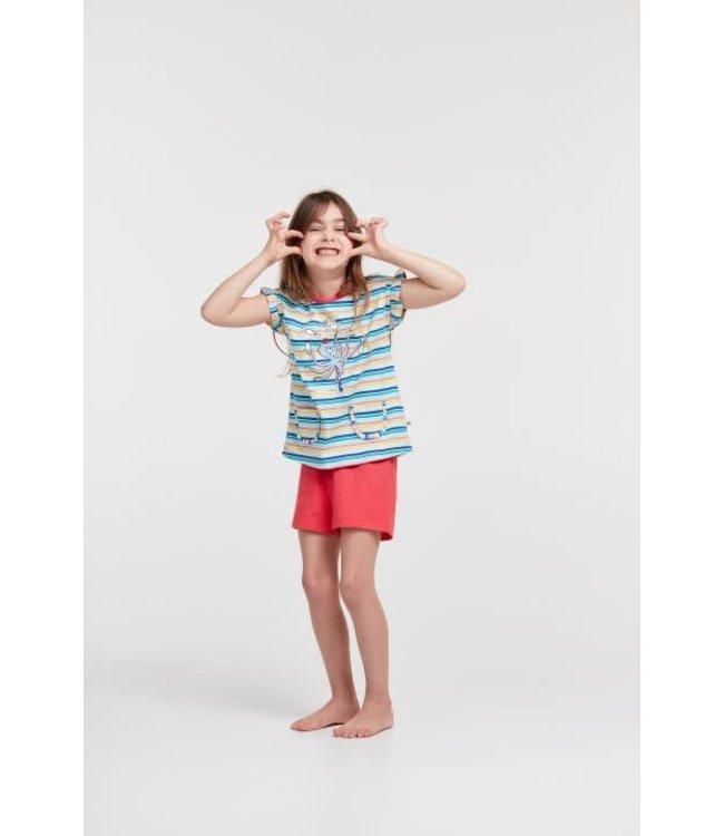 Woody 211-1-PSG-S/917Meisjes-Dames pyjama