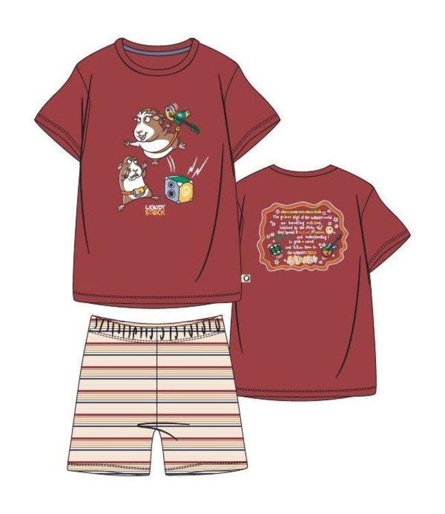 Woody 211-1-PSS-S/462Jongens-Heren pyjama