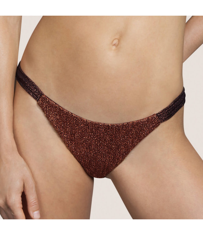 Andres Sarda Bikinislip Lamarr Copper