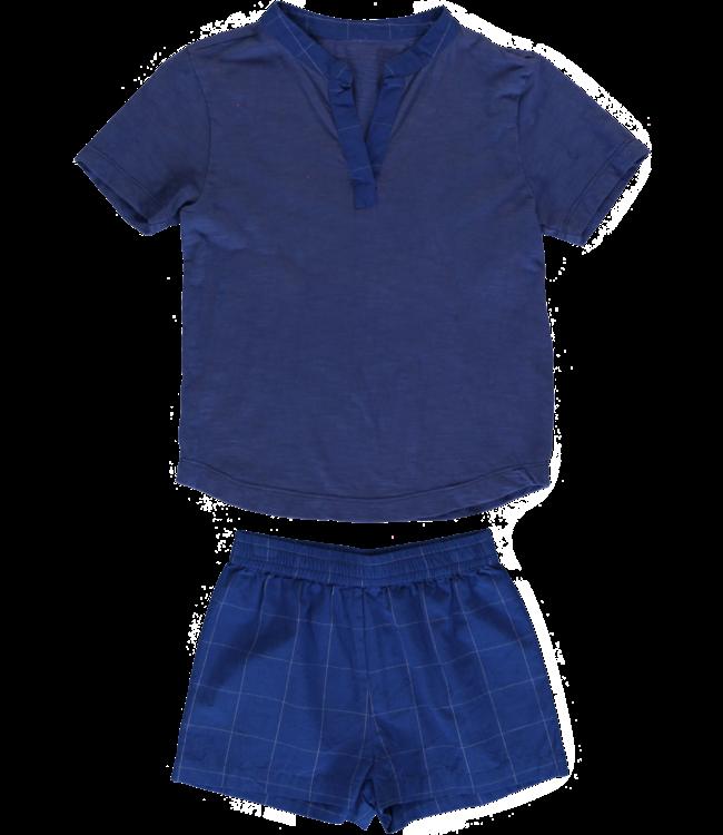 Dorélit Shortset Ebre &Mars Check Blue