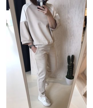 Twin-Set Homewear Set Felpa Frappe/Ottico