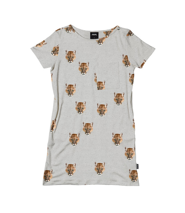 Snurk Puma T-Shirt Dress Woman
