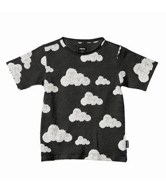 Snurk Cloud 9 Grey Black T-Shirt Kids