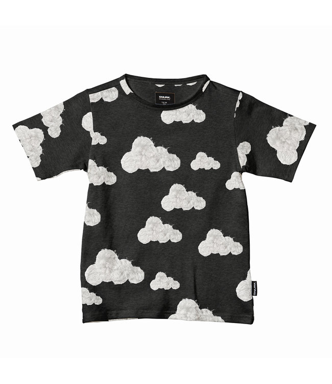 Snurk Cloud 9 Grey Black T-Shirt Kids