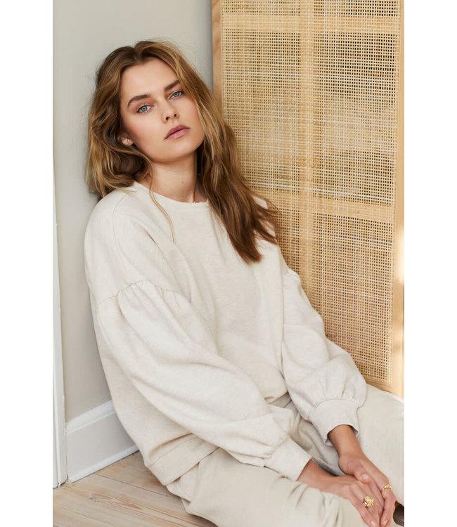 Lounge Nine Cesarine Sweatshirt OC Pastel Parchme