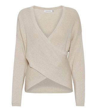 Lounge Nine Mallory Knit Pullover Pastel Parchme