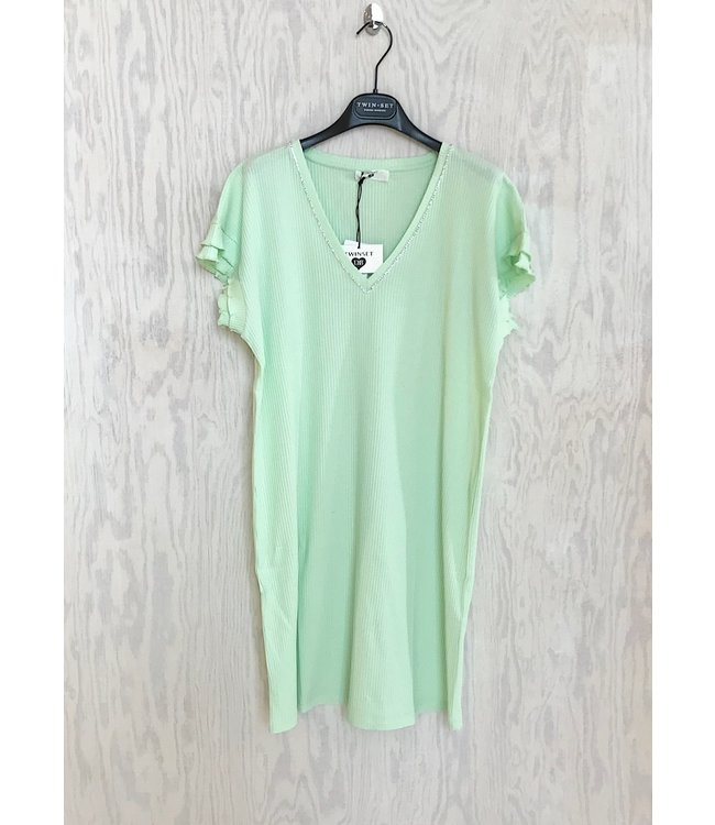 Twin-Set Slaapkleedje Pistacchio Pastel Green