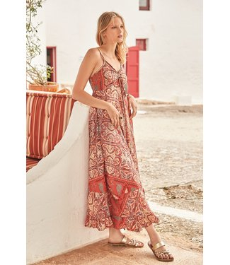 Iconique Lidia Strappy Maxi Dress Sierra Nevada Multicolor