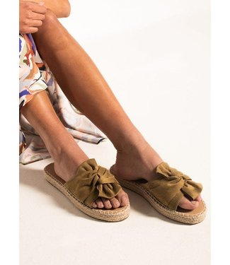 Beachlife Espadrille Dull Gold