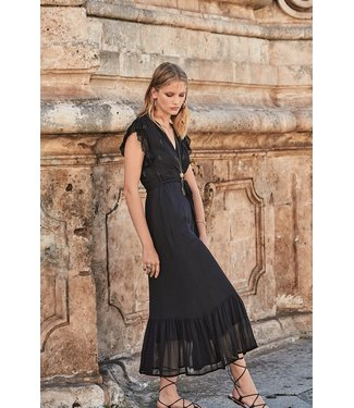 Iconique Elly Maxi Dress Starry Nights Black