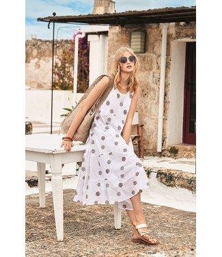 Iconique Bianca Sleeveless Dress Summer Glow Multicolor