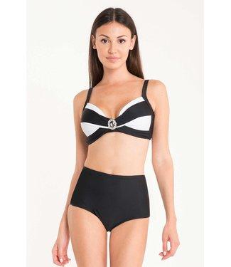 DavidBeach Clara Bikiniset Geometric Chic White Black