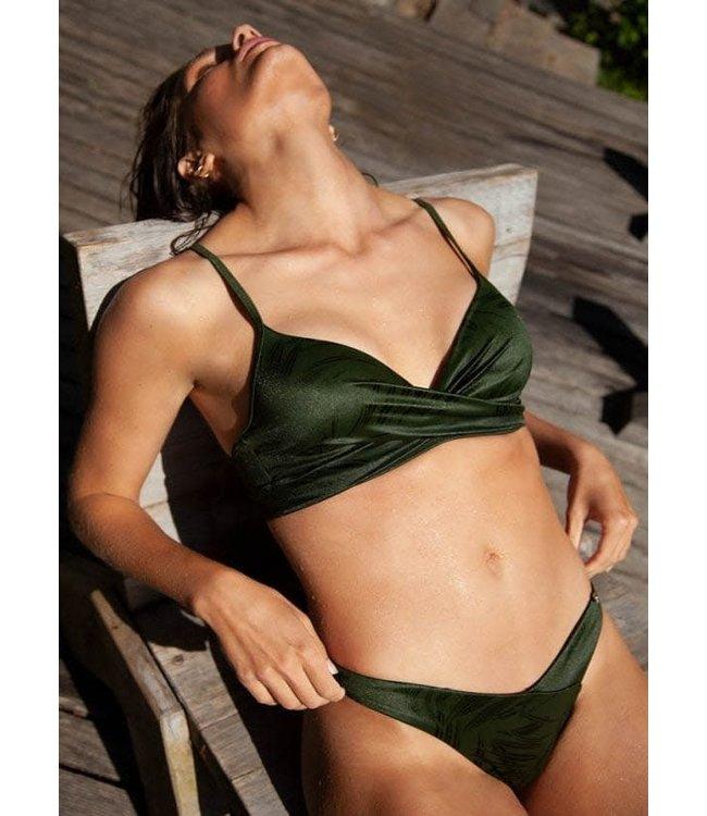 Beachlife Pesto Twist Bikinitop