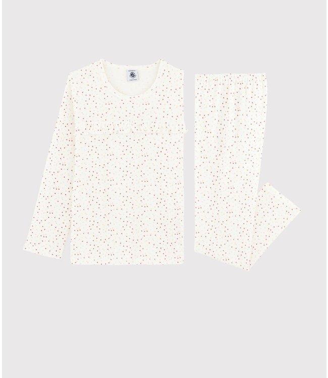 Petit Bateau Meisjespyjama Colour Dots Multi