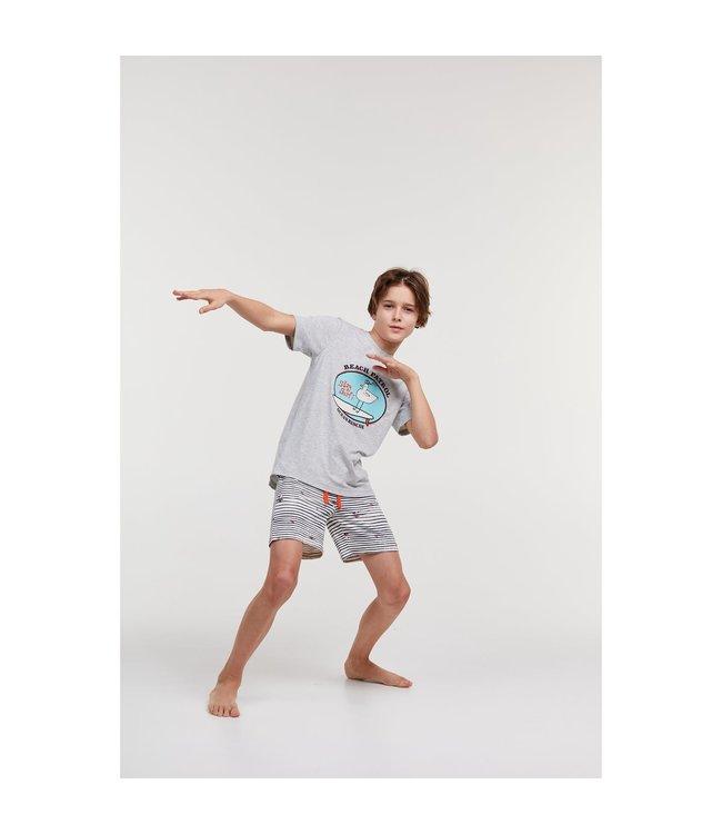 Studio Woody 211-2-QRS-Z/142Jongens-Heren pyjama