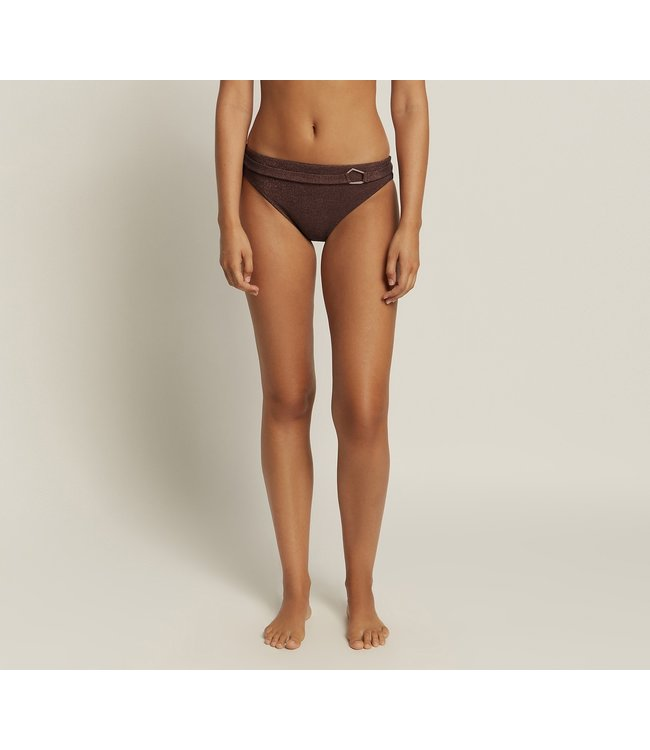 Jets Swimwear Paloma Bikinislip Black Copper