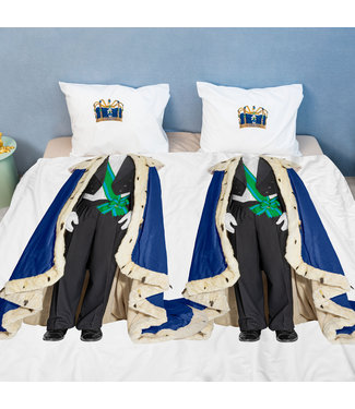 Snurk Dekbedovertrek The Royals King & King 240x200/220 + 2x 60x70 slopen