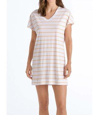 Hanro Nachthemd Laura 1/2 SLV Sunny Stripe