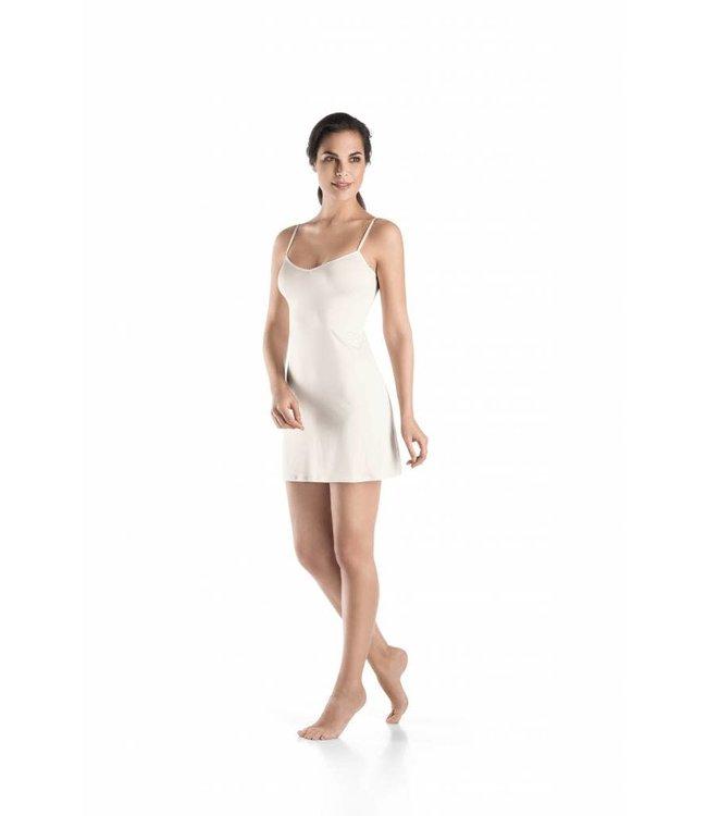 Hanro Bodydress Satin Deluxe Off White