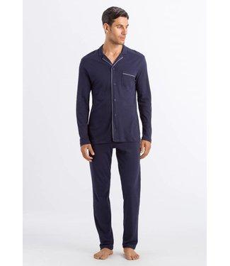 Hanro Men Pyjama Night&Day Black Iris