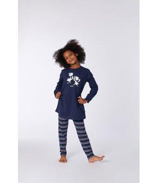 Woody 212-1-BLB-S/885Meisjes-Dames pyjama