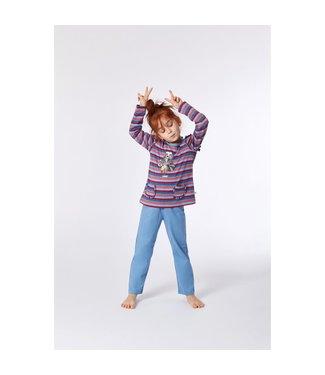 Woody 212-1-PLG-S/904Meisjes-Dames pyjama