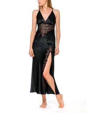 Coemi Long Nightdress Ayana Black