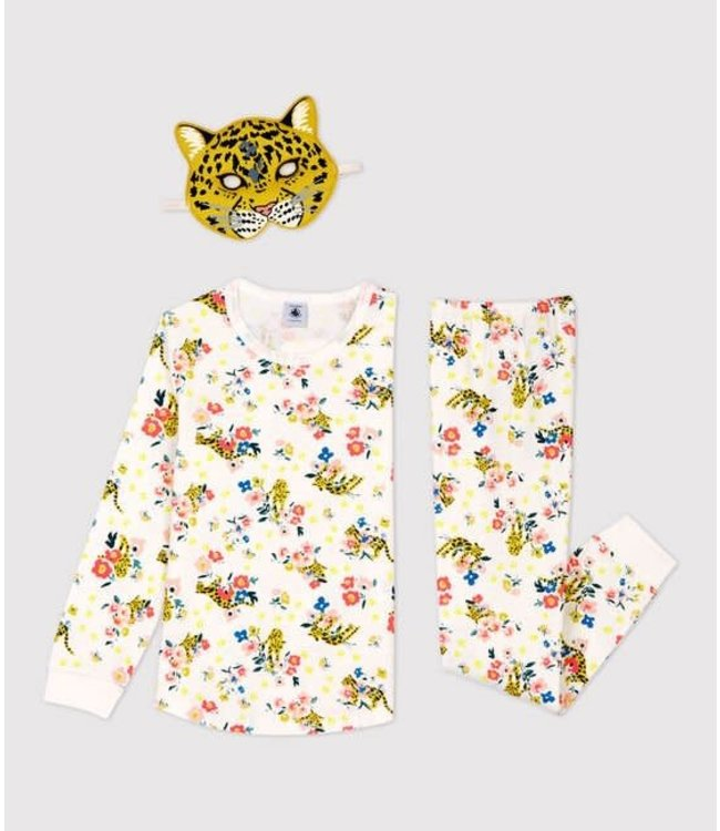 Petit Bateau Glow In The Dark Meisjes Pyjama Multicolor